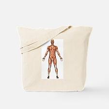 Visible Man Tote Bag