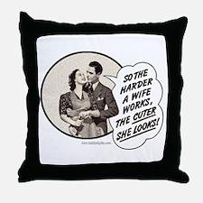 Hard Worker... Throw Pillow