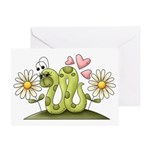 Lovey Inchworm Greeting Card