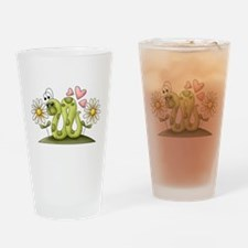 Lovey Inchworm Drinking Glass