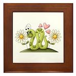 Lovey Inchworm Framed Tile