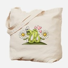 Lovey Inchworm Tote Bag