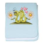 Lovey Inchworm baby blanket