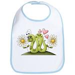 Lovey Inchworm Bib