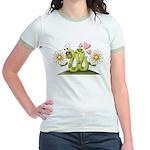 Lovey Inchworm Jr. Ringer T-Shirt