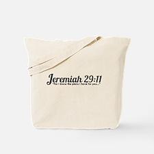 Jeremiah 29:11 (Design 4) Tote Bag