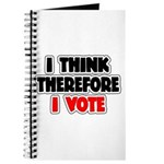 I Think Therefore I Vote Journal