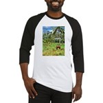 Horse in a Tropical Pasture Baseball Jersey