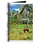 Horse in a Tropical Pasture Journal