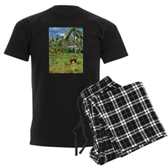 Horse in a Tropical Pasture Pajamas