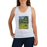 Horse in a Tropical Pasture Women's Tank Top