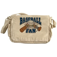 Baseball Fan(Blue) Messenger Bag