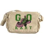 Go Kart Adult Messenger Bag