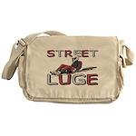Street Luge Racer Messenger Bag