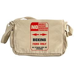 NO PARKING Boxing Messenger Bag