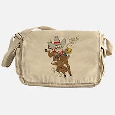 Bulls n' Beer Messenger Bag