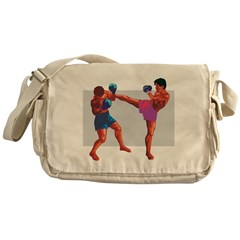 KickBoxers Messenger Bag