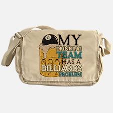 Billiards Drinking Team Messenger Bag