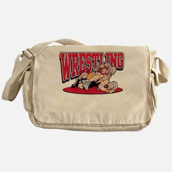 Wrestling Takedown Messenger Bag