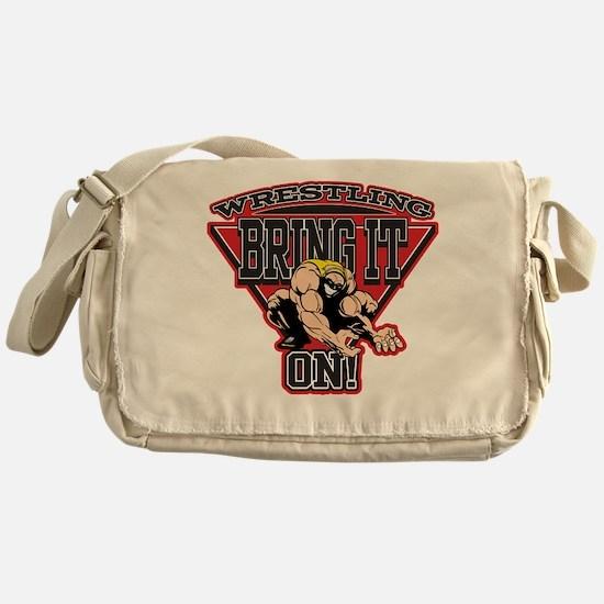 Wrestling Bring It On Messenger Bag