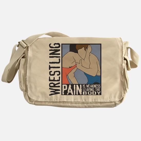 Wrestling Pain Messenger Bag