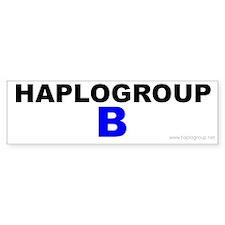 Haplogroup B Bumper Bumper Sticker
