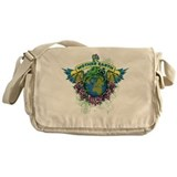 Save the earth Messenger Bag