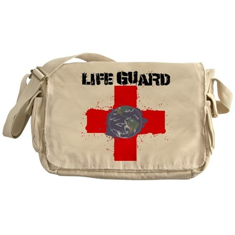 Life Guard Earth Messenger Bag