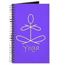 Yoga in Purple Journal