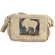 Mountain Goat Messenger Bag