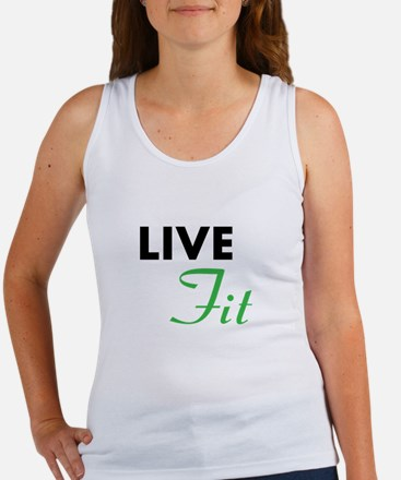 Funny Live fit Women's Tank Top