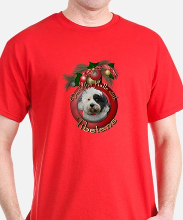 Christmas - Deck the Halls - Tibetans T-Shirt