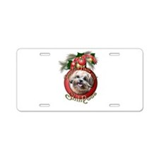 Christmas - Deck the Halls - ShihPoos Aluminum Lic