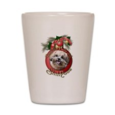 Christmas - Deck the Halls - ShihPoos Shot Glass