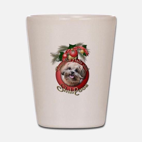 Christmas - Deck the Halls - ShihPoos Shot Glass