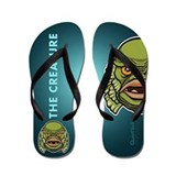 Creature from the black lagoon Flip Flops