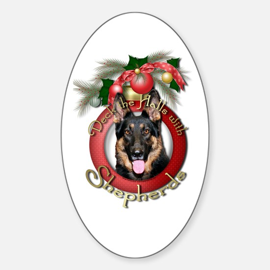 Christmas - Deck the Halls - Shepherds Decal