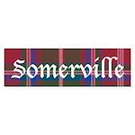 Tartan - Somerville Sticker (Bumper 50 pk)