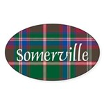 Tartan - Somerville Sticker (Oval)