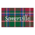 Tartan - Somerville Sticker (Rectangle 10 pk)
