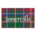 Tartan - Somerville Sticker (Rectangle 50 pk)