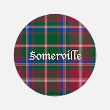 """Tartan - Somerville 3.5"""" Button (100 pack)"""