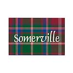 Tartan - Somerville Rectangle Magnet (10 pack)