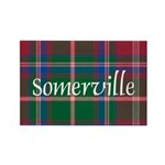 Tartan - Somerville Rectangle Magnet (100 pack)