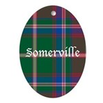 Tartan - Somerville Ornament (Oval)