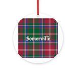 Tartan - Somerville Ornament (Round)