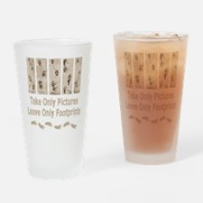 Outdoor Code of Ethics Drinking Glass