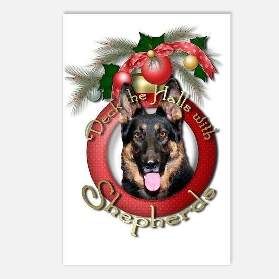 Christmas - Deck the Halls - Shepherds Postcards (