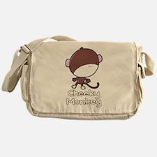 Cheeky Monkey Messenger Bag