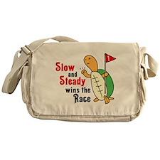 Tortoise and Hare Messenger Bag